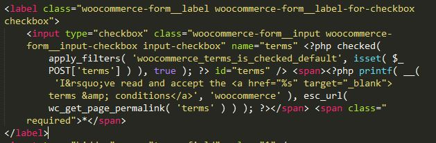 woocommerce change text on checkout page